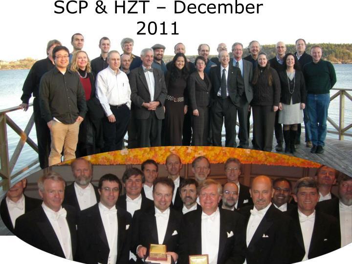 SCP & HZT – December 2011