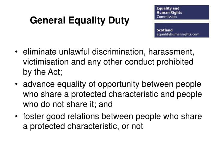 General Equality Duty