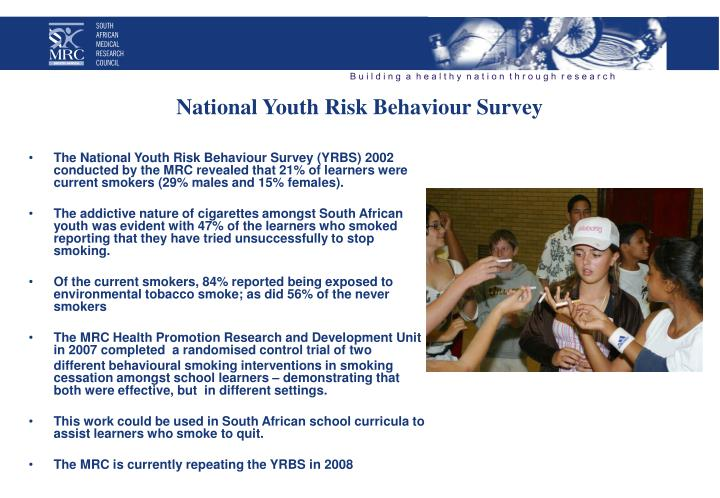 National Youth Risk
