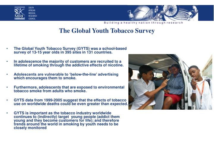 The Global Youth Tobacco Survey