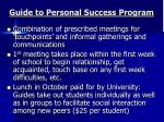guide to personal success program2