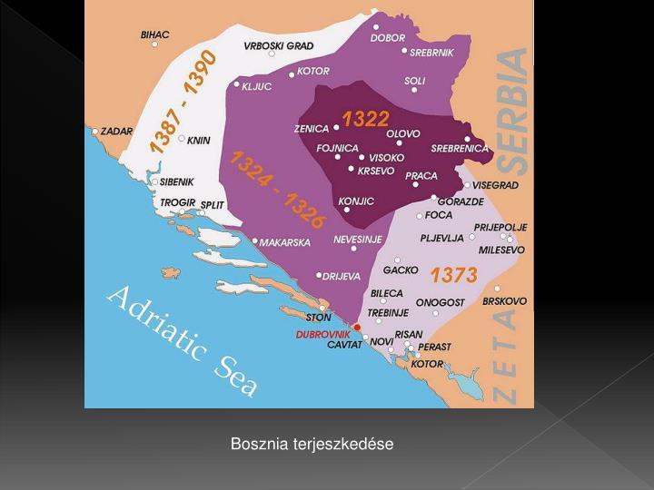 Bosznia terjeszkedése
