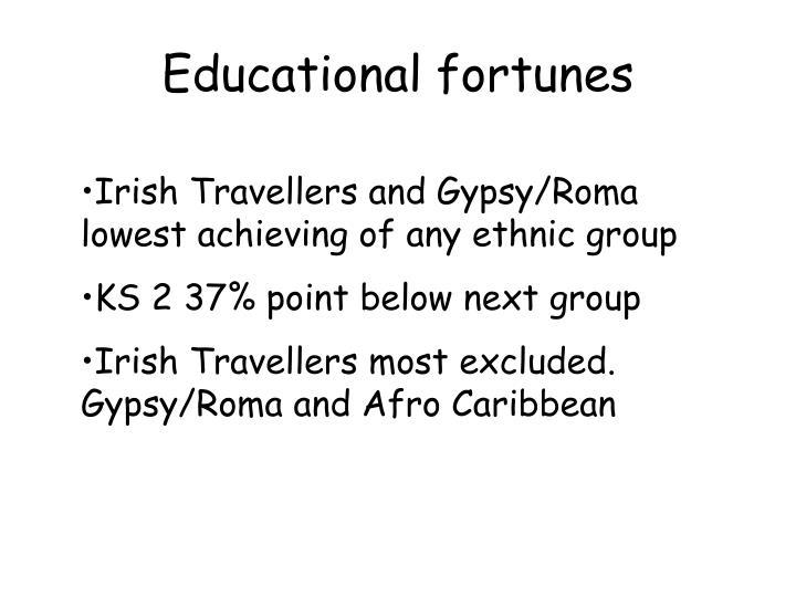 Educational fortunes