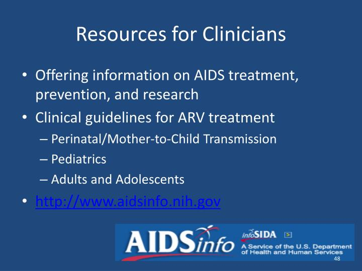 Resources for Clinicians