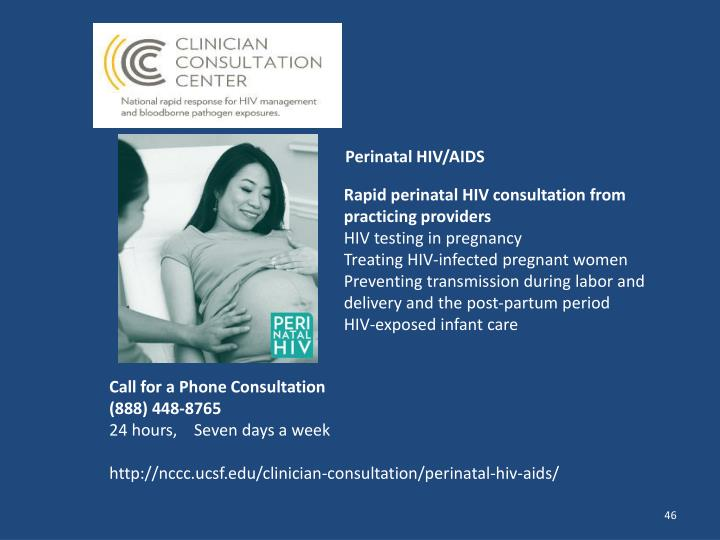 Perinatal HIV/AIDS