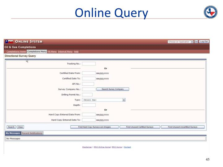 Online Query