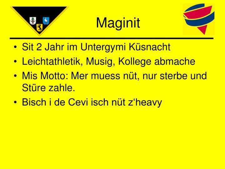 Maginit