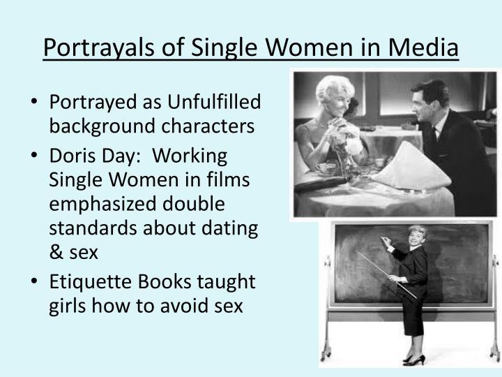 Portrayals of Single Women in Media