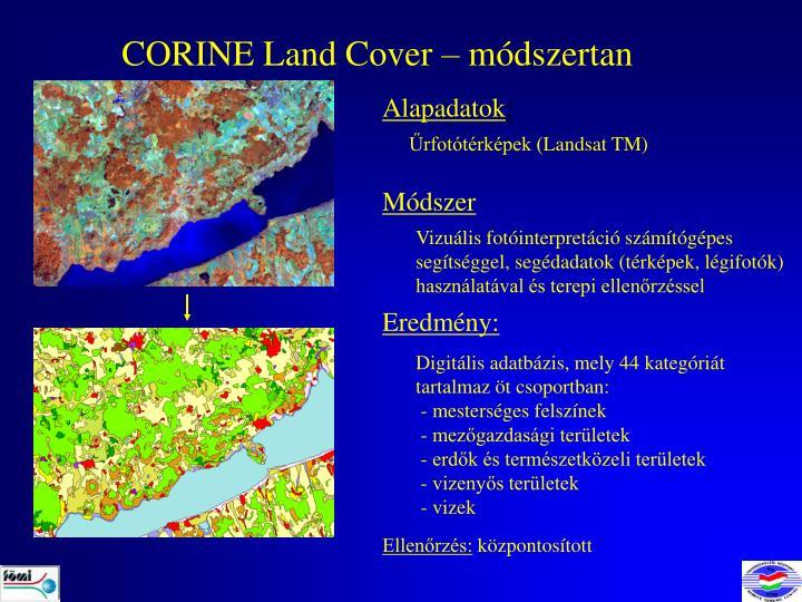 CORINE Land Cover –