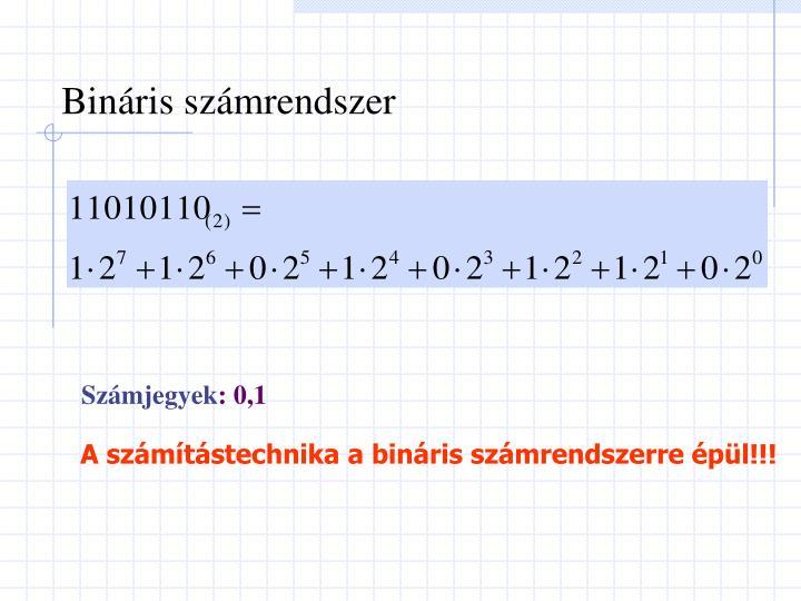 Bináris számrendszer