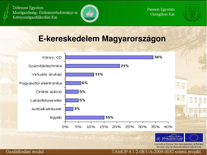 E-kereskedelem Magyarországon