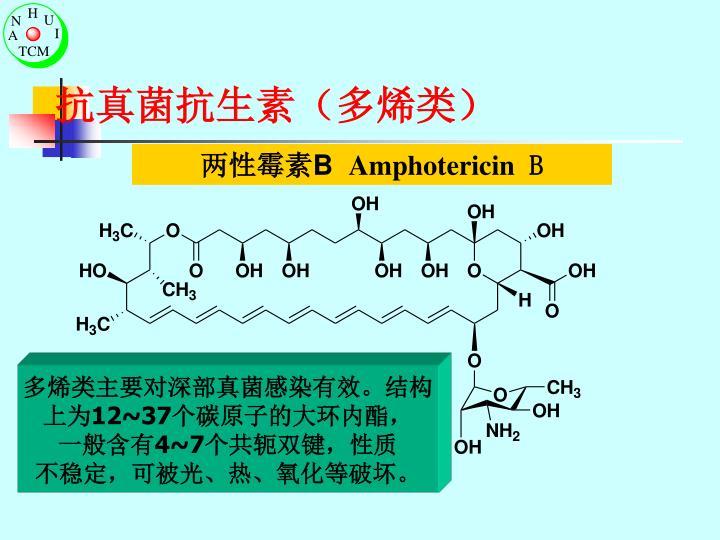 抗真菌抗生素(多烯类)