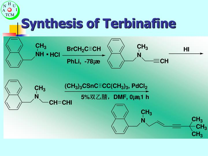 Synthesis of Terbinafine