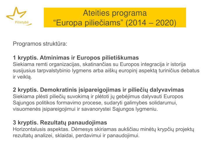 Ateities programa