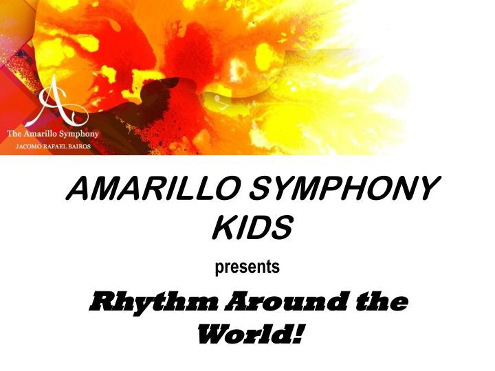 Amarillo Symphony Kids