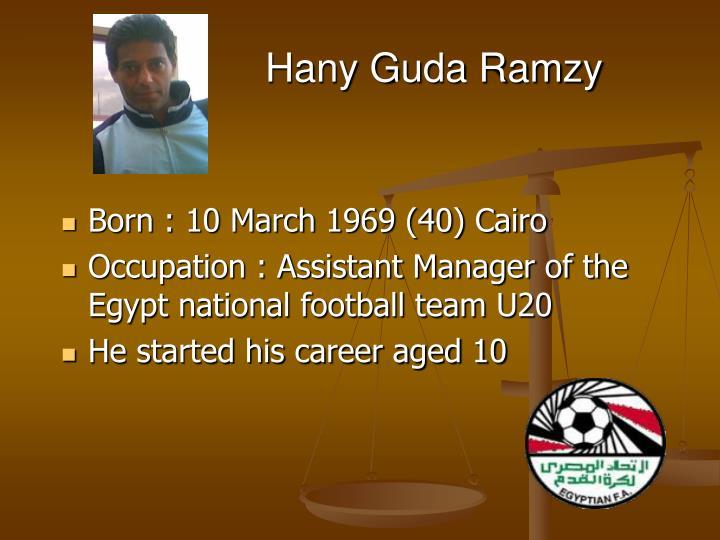 Hany Guda Ramzy