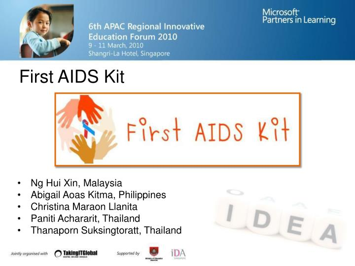 First AIDS Kit