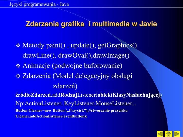 Języki programowania - Java