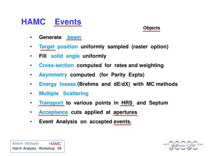 HAMC    Events