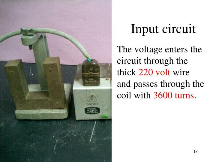 Input circuit