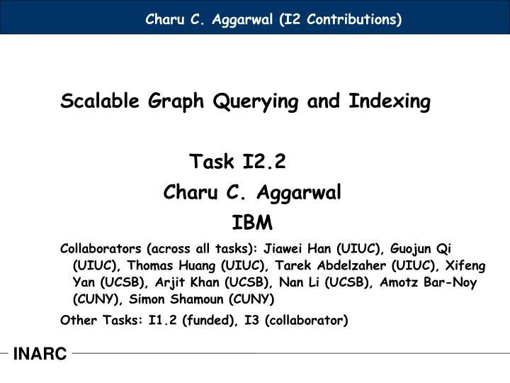 Charu C. Aggarwal (I2 Contributions)