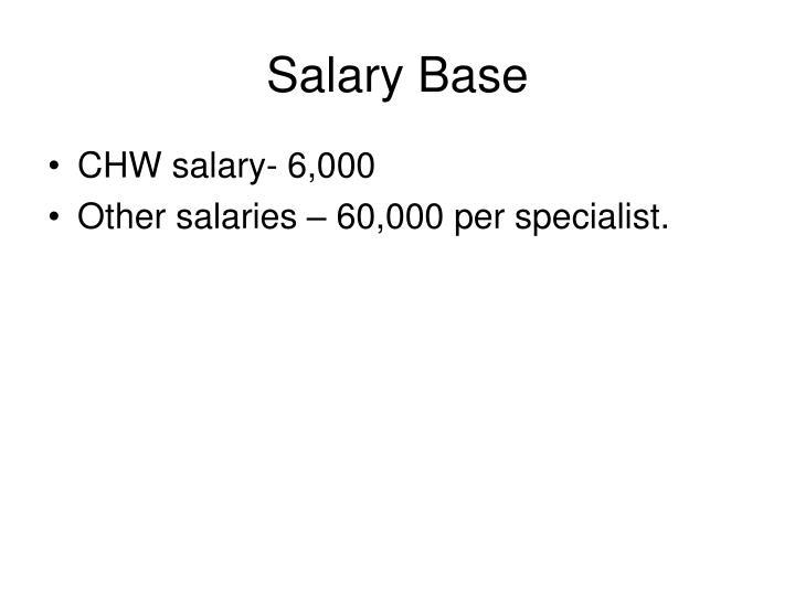 Salary Base