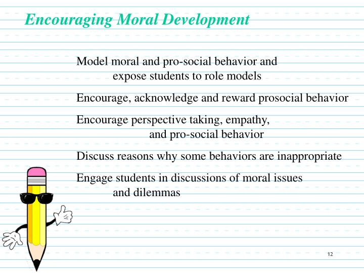 Encouraging Moral Development