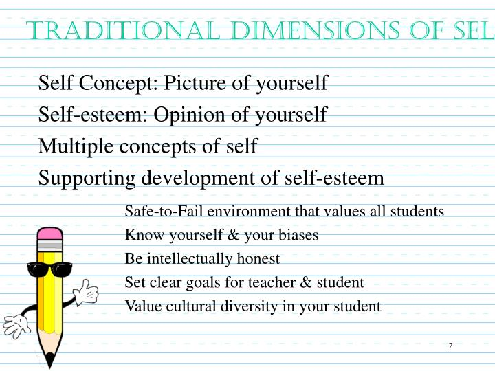 Traditional Dimensions of Self