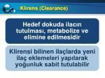 klirens clearance