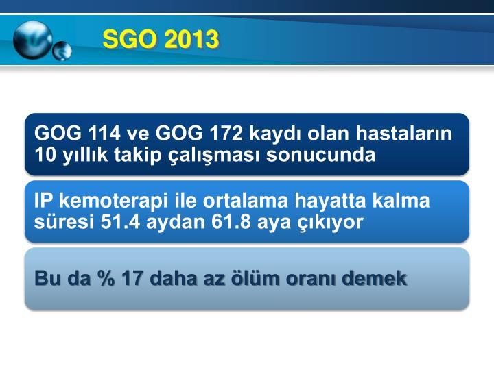 SGO 2013