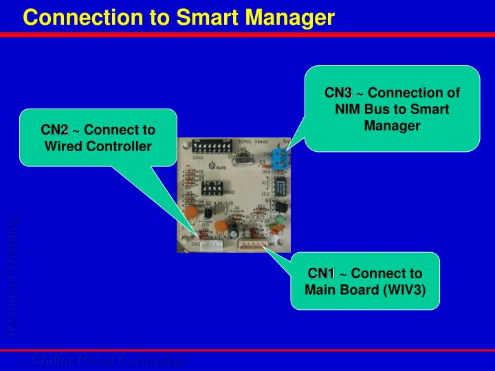 Connection to Smart Manager