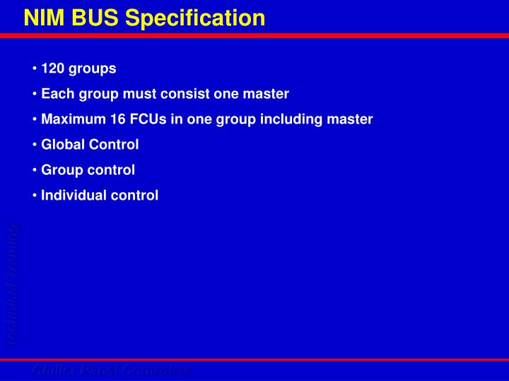 NIM BUS Specification