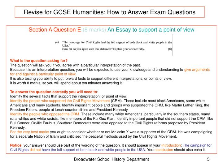 Revise for GCSE Humanities: