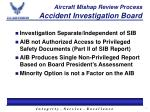 aircraft mishap review process accident investigation board2
