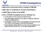 ntsb investigations