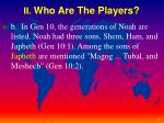 ii who are the players1