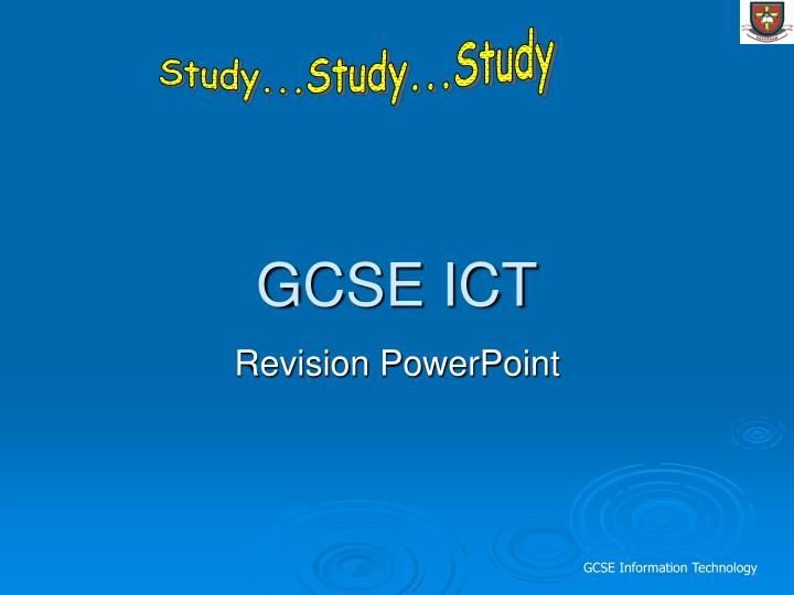 Study...Study...Study