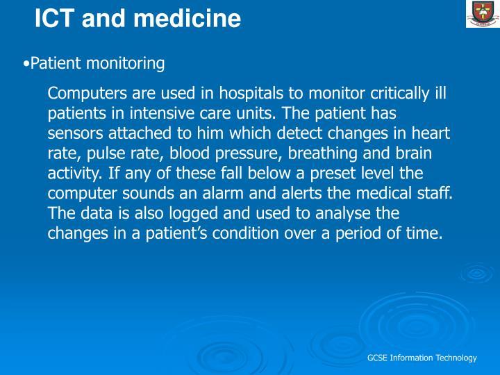ICT and medicine