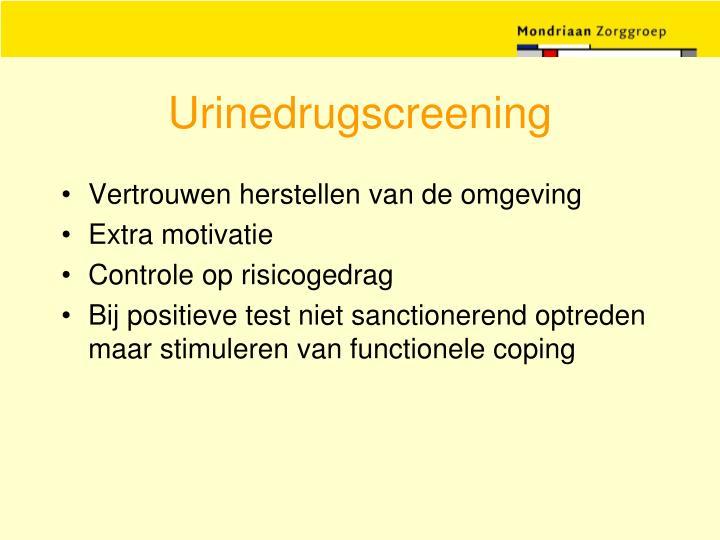 Urinedrugscreening