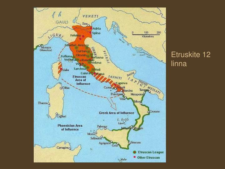 Etruskite 12 linna