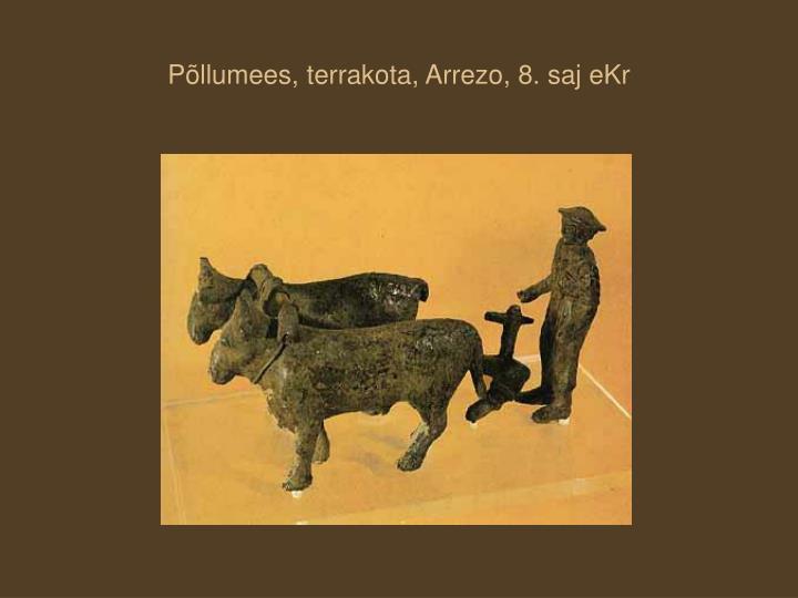 Põllumees, terrakota, Arrezo, 8. saj eKr
