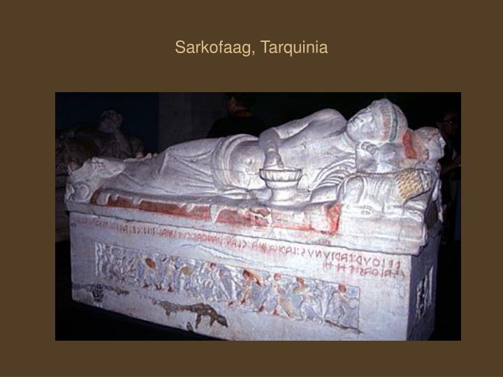Sarkofaag, Tarquinia