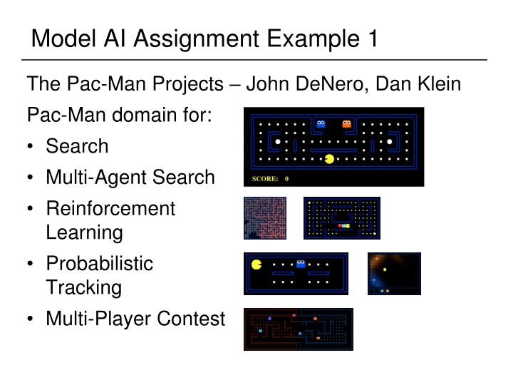 Model AI Assignment Example 1