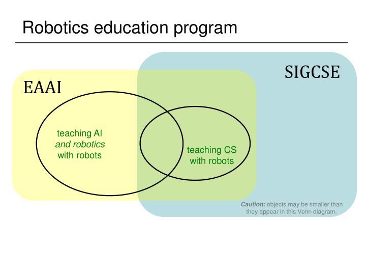 Robotics education program