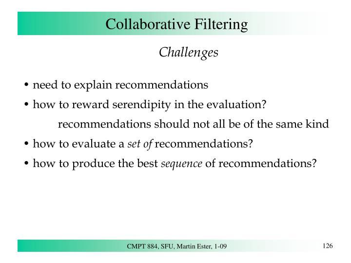 Collaborative Filtering