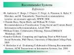 recommender systems12