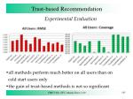 trust based recommendation12