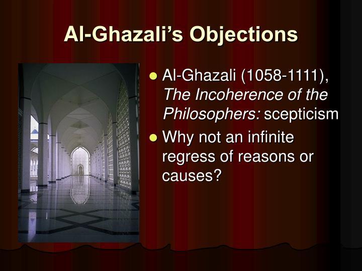 Al-Ghazali's Objections