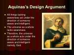 aquinas s design argument1