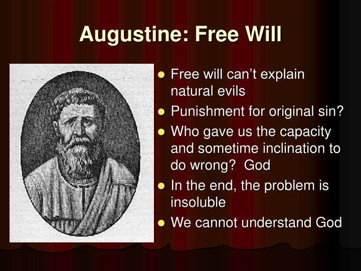 Augustine: Free Will